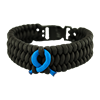 Picture of Child Abuse Awareness Bracelet - Boa Weave - Plastic Clasp
