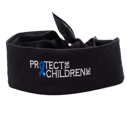 Child Abuse Awareness Bandana Protect The Children
