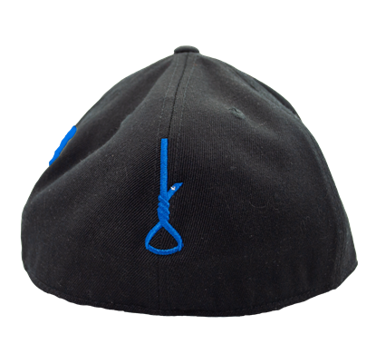 Child Abuse Awareness Hat Curve Bill Blue SACHAP w/Noose